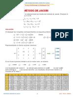 Problemas Desarrollados de Sistema de Ecuaciones Lineales