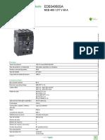Tableros de Distribución Eléctrica NF_EDB34060SA