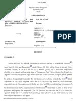 Gonzales v. Quirico Pe, G.R. No. 167398, August 9, 2011