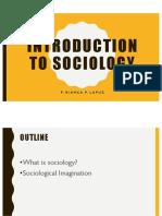 Intro to Socio SocCul
