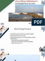 Aula 8 Portos -Obras de Abrigo Portuárias 2019