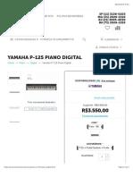 Yamaha P-125 Piano Digital