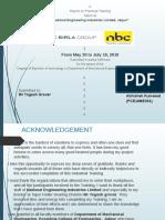 Internship NBC