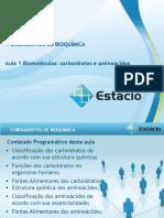 Resumos Fundamentos de Bioquímica