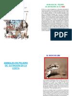 Animales en Peligro de Extinción en El Perú Albunnnnnnlisto