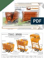 Manual e Catalogo TAC 9500 Rev-1