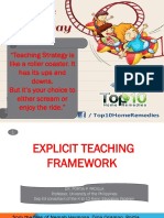 EXplicit Teaching Framework AFABLE