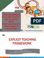 EXplicit Teaching Framework AFABLE