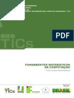 Instituto-Federal FUNDAMENTOS MATEMÁTICOS DA COMPUTAÇÃO - fmc.pdf