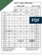Nitk academic calendar