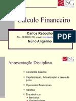 Calculo Financeiro Cap I e II v1