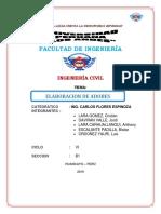 Informe Final de Contrucciones