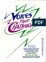 RECongress 1990 Registration Guidebook