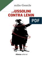Gentile, Emilio. - Mussolini Contra Lenin [2019]
