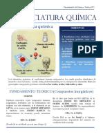 LABORATORIO N&Ordm;2- Nomenclatura Quimica