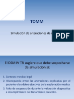 TOMM - Completo 97 Con Tiempo