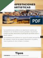 MANIFESTACIONES ARTISTICAS