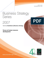 Bussines Strategy Series