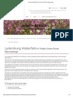 Lydenburg Waterfalls in Thaba Chweu Rural, Mpumalanga.pdf
