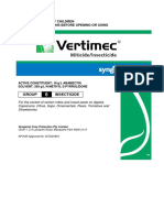 Vertimec Label - 50772-0801