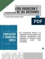 Evaluación, Predicción y Control de Las Decisiones