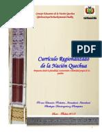 Curriculo Regionalizado de La Nacion Quechua AAAA