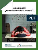 Consumo de Drogas.¿Qué Hacer Desde La Escuela