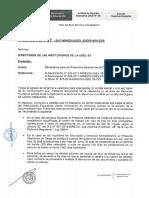 Oficio Multiple Parámetros Para Los Presuntos Abandonos de Cargo