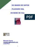 Creando Bd Utilizando SQL