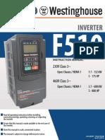 F510 Instruction Manual