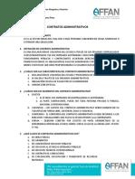 9. CONTRATOS ADMINISTRATIVOS