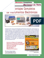 10 Montajes Completos de Instrumentos Electronicos