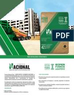 Ficha Tecnica de Cemento Nacional