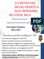 Avances Retos PJ CR Frente a Puebles Indígenas