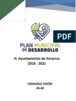 Plan Municipal de Desarrollo - Gaceta