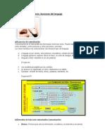 Comunicación, Funciones Del Lenguaje (1)