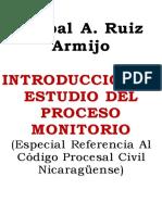 Introducción Al Estudio Del Proceso Monitorio - Ruiz