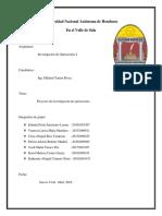 Informe de Investigacion de Operaciones