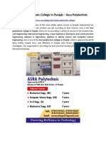 Best Polytechnic College in Punjab - Polytechnic Courses | Asra Polytechnic
