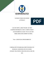Análisis y Diagnóstico 5 Fuerzas de Porter