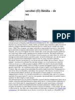 Curațirea de bolșevici a Basarabiei