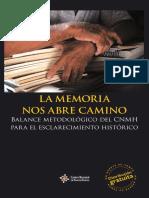 La Memoria Nos Abre Camino