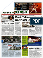 Primeras Planas Nacionales - 2019-07-