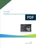 19010269-SC_A01 NICE900 Door Drive User Manual - 20161224