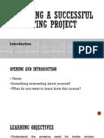 Project Management LO-1