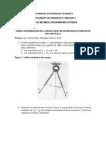 Problemas de Aplicación Estática de Partículas