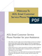 AOL Email Customer Support Contact Number