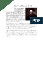 Ferdinand Magellan 1480