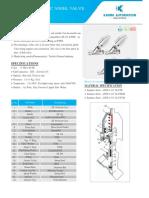 2 Way Pneumatic Angel Valve-series – Ytc-2 (1)
