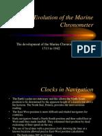 Evolution Marine Chronometer